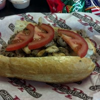 Photo taken at DP Cheesesteaks by Jason S. on 6/26/2012