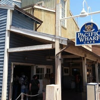 Photo taken at Pacific Wharf Café by CR T. on 5/31/2012