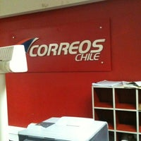Photo taken at Correos De Chile by R. P. on 7/19/2012