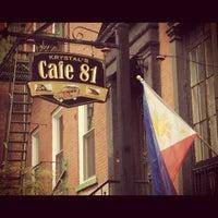 Photo taken at Cafe 81 by kat p. on 9/2/2012