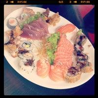 Photo taken at Kony Sushi by Vanessa B. on 4/13/2012