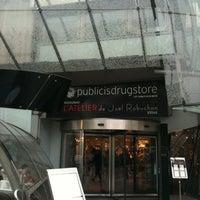 4/27/2012にPhilippe T.がPublicis Drugstoreで撮った写真
