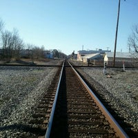 Photo taken at railroad by Philip D. on 1/3/2012