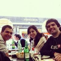 Photo taken at Solera Pizza Restaurante Café by Javier N. on 7/20/2012