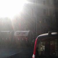 Photo taken at Piazza della Marranella by Anita B. on 8/22/2012