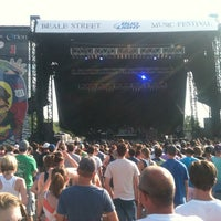 Photo taken at Beale Street Music Festival- Bud Light Stage by Lowtide L. on 5/6/2012