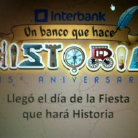 Photo taken at Oficinas Interbank Centro Civico 4to. Piso by Patricia S. on 6/28/2012