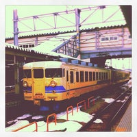 Photo taken at Toyama Station by Eiji T. on 2/20/2012