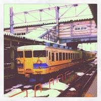 Photo taken at Toyama Station by Eiji T. on 2/20/2012