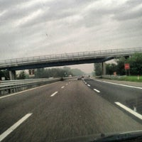 Photo taken at A7 - A53 - Bereguardo / Pavia Nord by Manu on 9/12/2012
