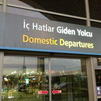 Photo taken at Domestic Departures by Ali T. on 8/3/2012