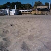 Photo taken at Северен Плаж (North Beach) by Zhivko Z. on 8/29/2012