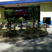 Photo taken at Rosario Sports Arena by Ethel D. on 3/3/2012
