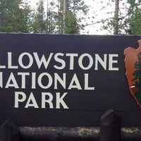 Photo taken at Yellowstone National Park (West Entrance) by Clair S. on 6/19/2012