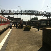 Photo taken at Lindau Central Station by Dietmar on 8/22/2012