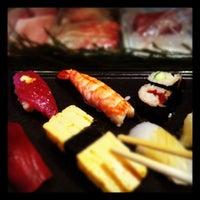 Photo taken at Sushi Kyotatsu by pezike on 4/14/2012