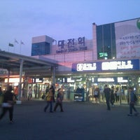Photo taken at Daejeon Stn. - KTX/Korail/SRT by Ⓜabin on 5/26/2012