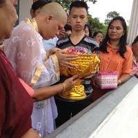 Photo taken at Wat Amarit by Gru Mun Ba M. on 7/29/2012