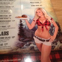 Photo taken at Twin Peaks Restaurant by Katherine B. on 7/27/2012