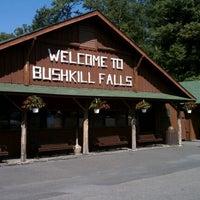 Photo taken at Bushkill Falls by Jess V. on 8/31/2012