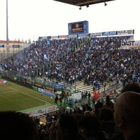 Photo taken at Stadio Ennio Tardini by Giulio S. on 3/4/2012
