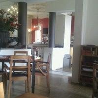 Photo taken at Stadscafé-Restaurant 't Feithhuis by René S. on 4/30/2012