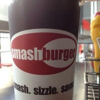 Photo taken at Smashburger by Derek L. on 3/19/2012