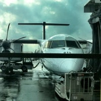 Photo taken at Billy Bishop Toronto City Airport (YTZ) by Jean-Luc D. on 2/24/2012