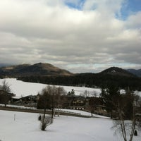 Photo taken at Crowne Plaza Resort Lake Placid-Golf Club by S. S. on 2/19/2012