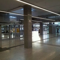 Photo taken at Warsaw East Railway Station by Krystian C. on 5/30/2012