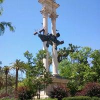 Foto tomada en Jardines de Murillo | Paseo Catalina de Ribera por Adrian C. el 5/9/2012