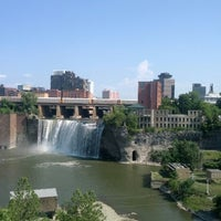 Photo taken at High Falls by John H. on 7/4/2012