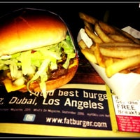 Photo taken at Fat Burger by Reehs Y. on 6/10/2012