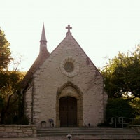 Photo taken at St. Joan of Arc Chapel by Steve S. on 5/9/2012