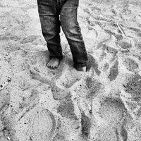 Photo taken at Marina Beach by Pinot on 4/29/2012