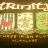 Photo taken at Trinity Three Irish Pubs by Donovan T. on 3/4/2012