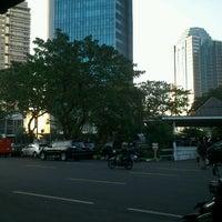 Photo taken at Bus Shelter SCBD by ★Melanie ★. on 6/18/2012