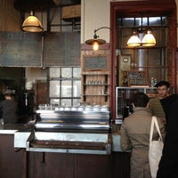 Photo taken at Bowery Coffee by Cora L. on 3/26/2012