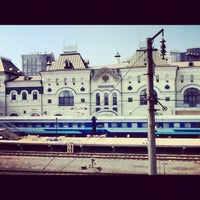 Photo taken at Vladivostok Railway Station by Владимир В. on 4/20/2012
