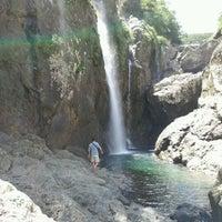 Photo taken at タンギョの滝 by realikkyu on 7/16/2012