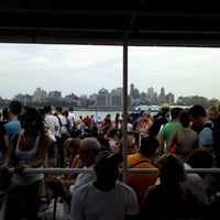 Photo taken at Governors Island Ferry by Erin D. on 7/15/2012