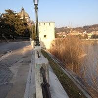 Photo taken at Lungadige San Giorgio by Vittorio B. on 2/21/2012