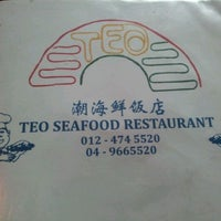 Photo taken at Teo Seafood Restaurant by Py O. on 12/4/2011