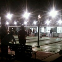 Photo taken at St. Petersburg Shuffleboard Club by Lee P. on 3/3/2012