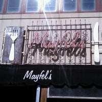 Photo taken at Mayfel's by Jeff T. on 10/23/2011