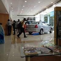 Photo taken at DSK Toyota by Ajit G. on 9/1/2012