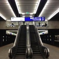 Photo taken at Warsaw Central Railway Station by Szymon K. on 1/29/2012