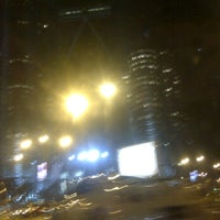 Photo taken at Traffic Light dpn KLCC by Lim N. on 10/1/2011