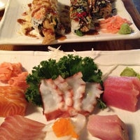 Photo taken at Sushi Park by Carrie C. on 6/29/2012