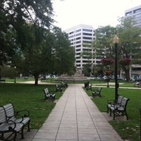 Photo taken at Farragut Square by Nestor T. on 9/18/2011